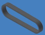 355-5MGT-15 Gates Powergrip Belt 5mm Pitch, 15mm Wide, 500mm Long
