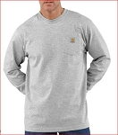 CTK126, Carhartt Workwear Pocket Long Sleeve T-Shirt