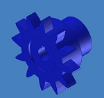 IG-050 Modified Spur Gear