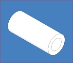 PPL-923, PTFE Sleeve Bearing, 3/16