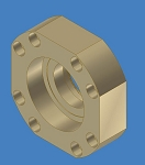 IGSS-329, Secondary Sealer, Indexing Shaft Bearing Block