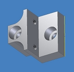 PPL-1150, Corner Block Anti Rotate Rod Block, MTS12