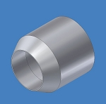 PPL-2128, Alum Cone Spacer Guide Roller w/ Bearing